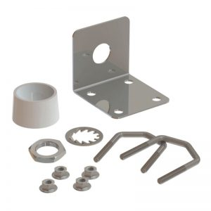 Stainless steel Mast/Wall/Rail Mount (Ø 16.5 mm)